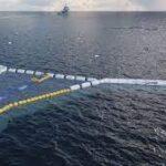 THE OCEAN CLEANUP: DISPOSITIVO LOGRA SACAR MAS DE NUEVE TONELADAS DE PLASTICO DEL OCEANO